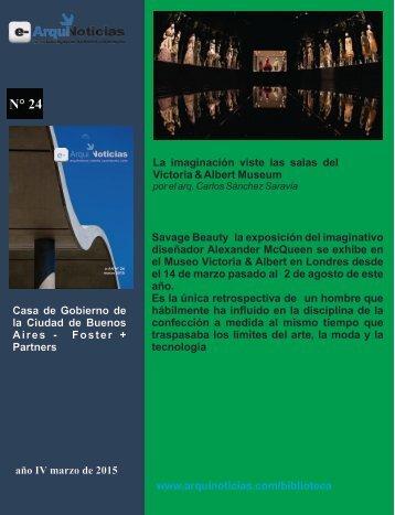 La imaginación viste las salas del Victoria & Albert Museum por el arq. Carlos Sánchez Saravia
