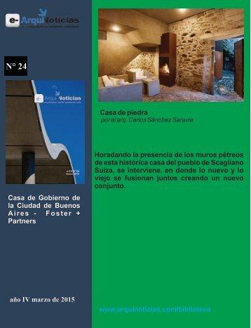 Casa de piedra por el arq. Carlos Sánchez Saravia