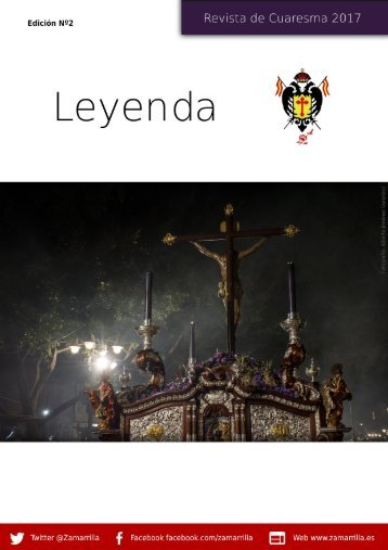 Leyenda - Revista de Cuaresma 2017
