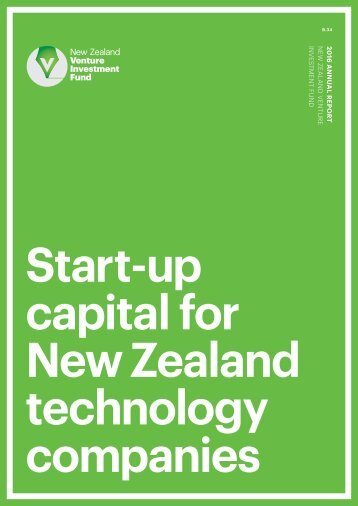 Start-up capital for New Zealand technology companies