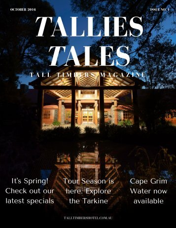Tallies Tales Issue 1