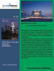 e-An N° 30 nota N° 1  Jugando con las curvas por el arq. Carlos Sánchez Saravia