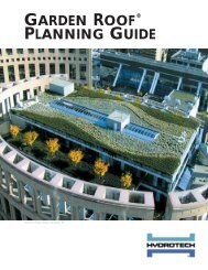 Garden Roof Planning Guide - American Hydrotech, Inc.