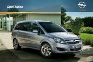 Prospekt Opel Zafira - Opel Schweiz