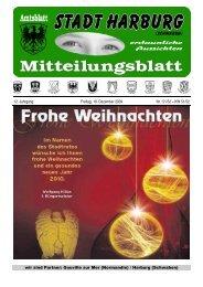 12. Jahrgang Freitag, 18. Dezember 2009 Nr. - Harburg
