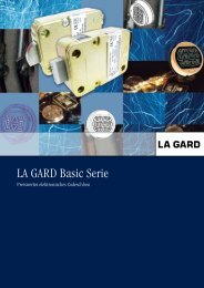 LA GARD Basic Serie - Kaba Mauer GmbH