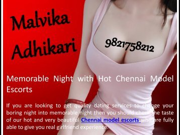 Special Night with Hot Chennai Model Escorts