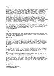 Adapter 1 Nokia: 500 / 701 / 1200 / 1202 / 1208 / 1209 / 1280 ... - ELV