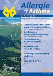 Epidemiologie von Asthma und Allergien in Deutschland und Europa