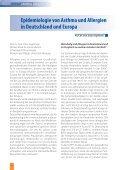 Epidemiologie von Asthma und Allergien in Deutschland und Europa - Seite 4