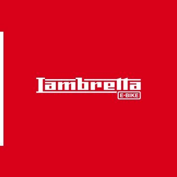 Lambretta E-Bike 2017 deutsch