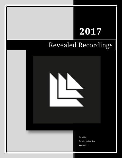 Revealed Recordings