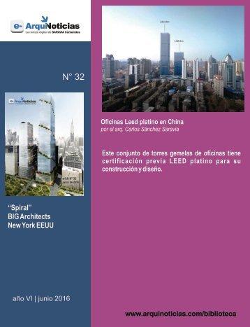 Oficinas Leed platino en China por Carlos Sánchez Saravia