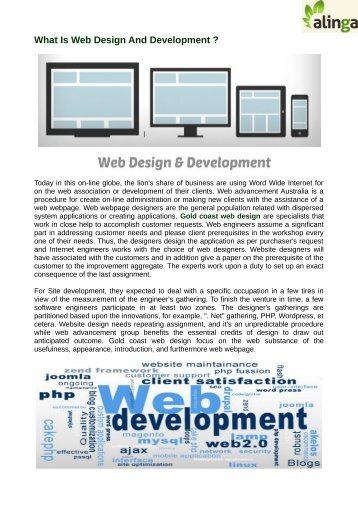 What Is Web Design And Development ?