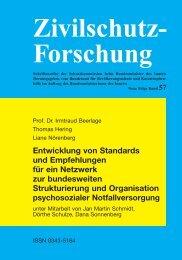Zivilschutz- Forschung - Bundesamt für Bevölkerungsschutz und ...