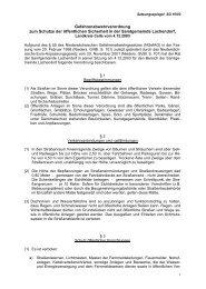 Verordnung über die öffentliche Sicherheit - Samtgemeinde ...