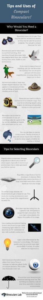 Tips and Uses of Compact Binoculars