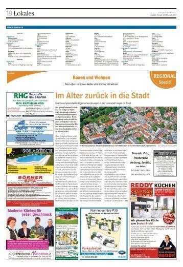 Regional Spezial - Bauen und Wohnen - Spremberg, Februar 2017