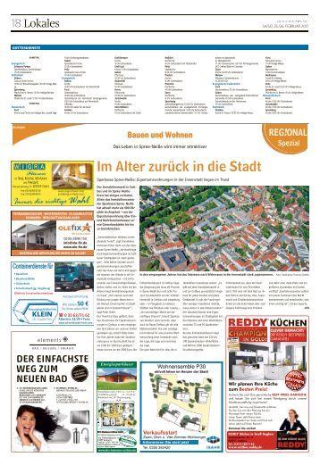 Regional Spezial - Bauen und Wohnen - Forst, Februar 2017