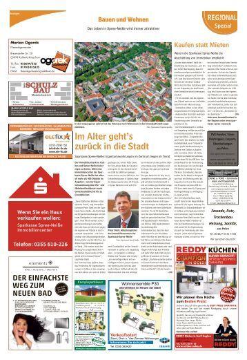 Regional Spezial - Bauen und Wohnen - Guben, Februar 2017