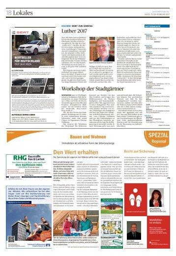 Regional Spezial - Bauen und Wohnen - Weißwasser, Februar 2017