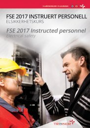 FSE Instruert personell 2017