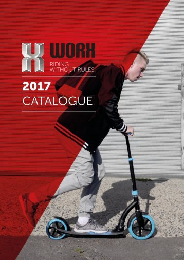 PS Worx Scooter Catalogue 2017
