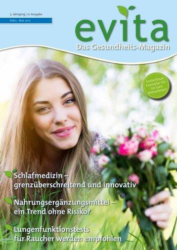 Evita Ausgabe März-Mai 2017