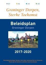 Beleidsplan 2017-2020