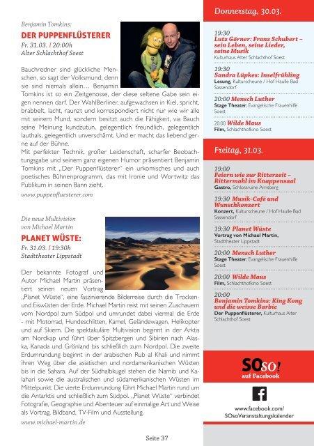 SOso! März Ausgabe