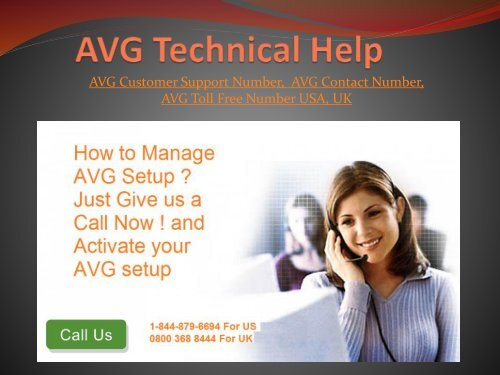 AVG Technical Help - AVG Customer Support Contact Number USA