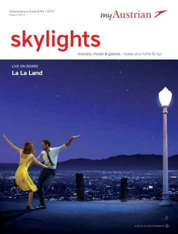 Skylights - Entertainment Guide Long-haul, March 2017
