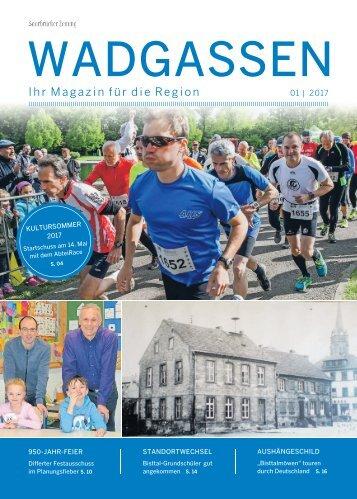 Gemeindemagazin Wadgassen 01|2017