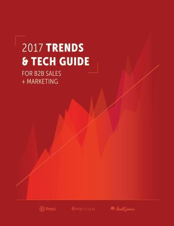 2017 TRENDS & TECH GUIDE