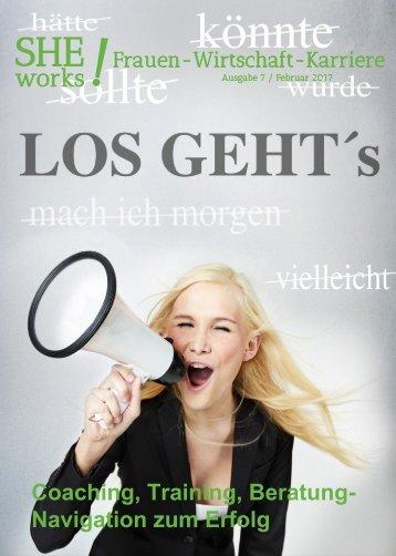 SHE works! Frauen - Wirtschaft - Karriere