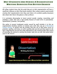 Why Students Are Hiring A Dissertation Writing Services  For Better Grades