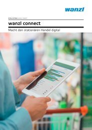 Wanzl Connect - Macht den stationären Handel digital