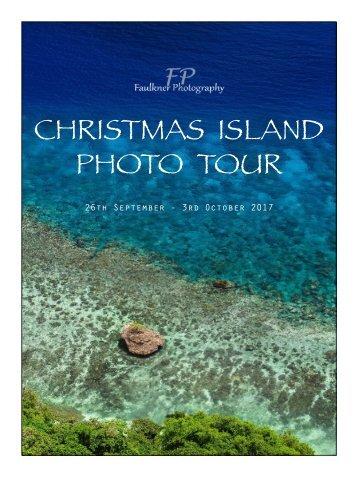 CHRISTMAS ISLAND PHOTO TOUR