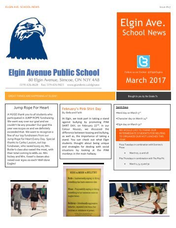March Newspaper 2017