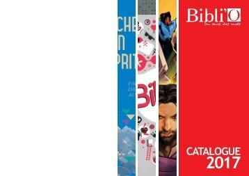 Catalogue Bibli'O 2017
