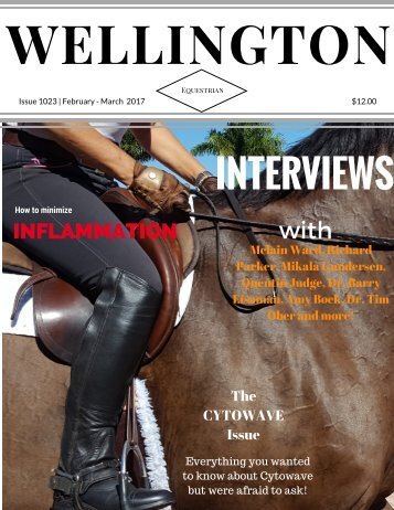 Wellington Equestrian cover Feb - March