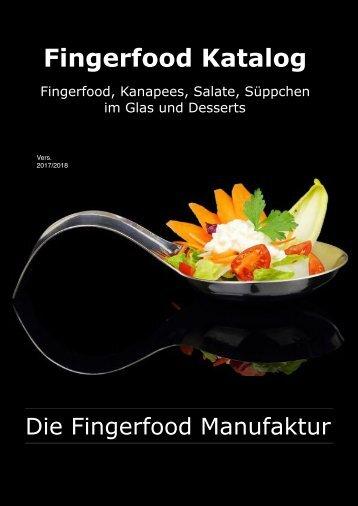 Fingerfood Katalog 2017(2018