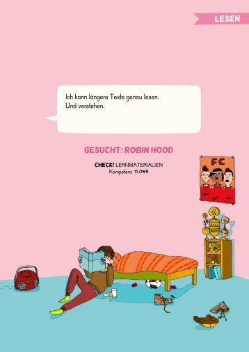 GESUCHT: ROBIN HOOD
