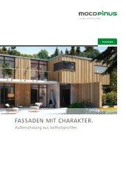 Mocopinus - Fassaden mit Charakter