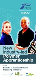 New industry-led Polymer Apprenticeship