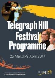 Telegraph Hill Festival Programme