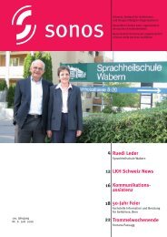 Ruedi Leder LKH Schweiz News Kommunikations ... - Sonos
