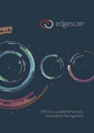 Effective Scalable #Fullstack Vulnerability Management