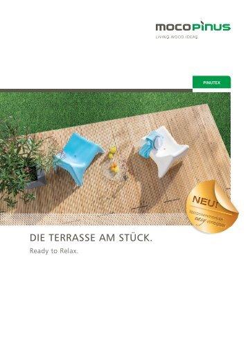 Pinutex - Die Terrasse am Stück