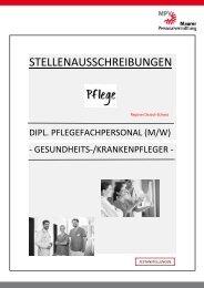 MPV-Stellen-Pflege & Betreuung (CH)
